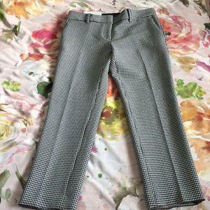 Ann Taylor Black & White Devin Pants 2P